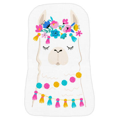 Cuscino INSPIRE Lama multicolore 30x40 cm