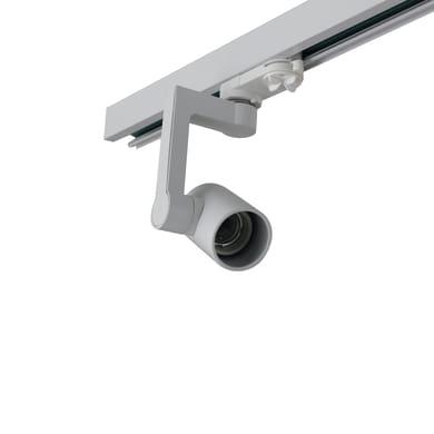 Proiettore Express per binario monofase bianco LED integrato 7 W