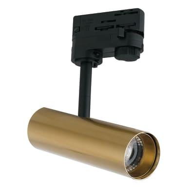 Proiettore Rocket per binario trifase oro LED integrato 7 W