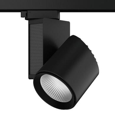 Proiettore Train per binario trifase nero LED integrato 40 W