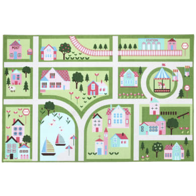 Tappeto Play rug Street , verde, 80x140