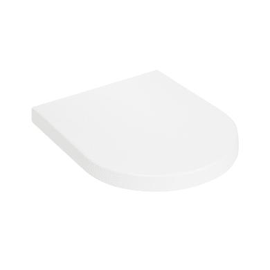 Copriwater quadrato Universale Daytime termoindurente bianco