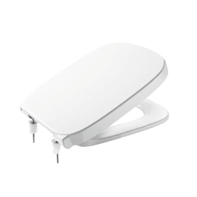 Copriwater quadrato Dedicato per serie sanitari Debba ROCA plastica termoindurente bianco