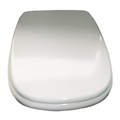 Copriwater quadrato Dedicato per serie sanitari Event ROCA plastica termoindurente bianco