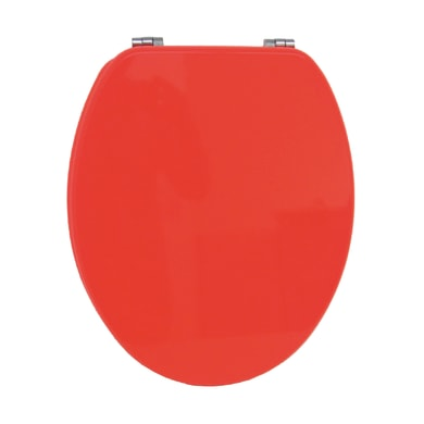 Copriwater ovale Universale Color56 mdf arancione