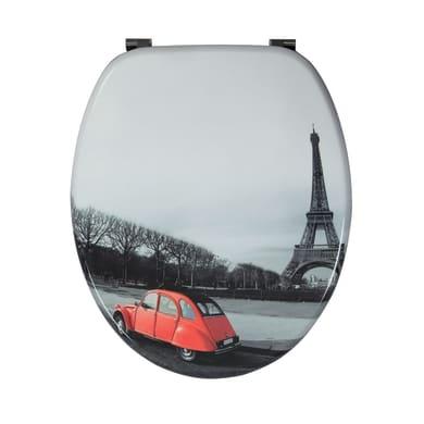 Copriwater ovale Universale Paris WIRQUIN mdf decoro fantasia