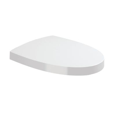 Copriwater quadrato Quadrato Originale per serie sanitari SANITANA Pop Art plastica termoindurente bianco