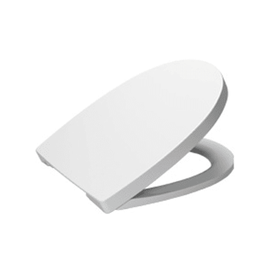 Copriwater quadrato Quadrato Dedicato per serie sanitari SANITANA Pop plastica termoindurente bianco