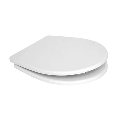 Copriwater ovale Ovale Dedicato per serie sanitari Selnova Pro termoindurente bianco