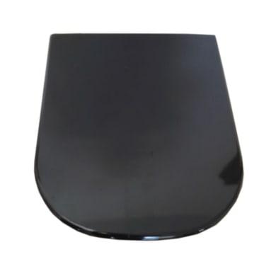 Copriwater quadrato Dedicato per serie sanitari Tuttoevo termoindurente nero