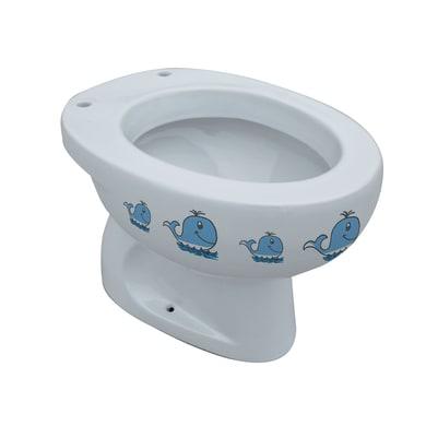 Vaso wc a pavimento balena