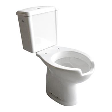 Vaso WC monoblocco Per disabili - scarico parate