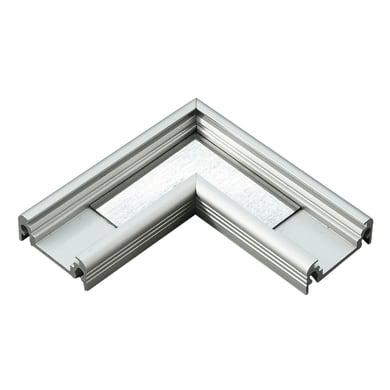 Connettore per profilo strisce led, grigio / argento, 2 m