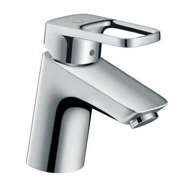 Rubinetto per lavabo Logis Loop 70 Coolstart cromo lucido HANSGROHE