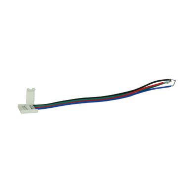 Connettore 10mm per strisce led,
