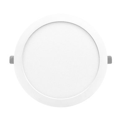 Faretto fisso da incasso tondo Valentine bianco, diam. 21.5 cm LED integrato 18W 1550LM IP20