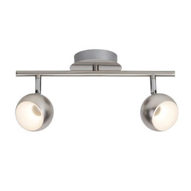 Barra di faretti Inova cromo, in metallo, LED integrato 3.7W 760LM IP20 BRILLIANT