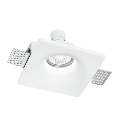 Faretto fisso da incasso quadrato Senso-1 in gesso, bianco, 12xGU10 MAX42W IP20 1 pezzi