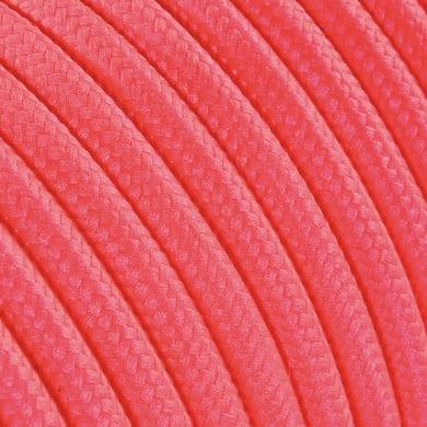 Cavo tessile MERLOTTI 2 fili x 0,75 mm² fucsia 5 metri