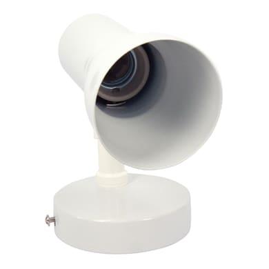 Faretto Dodo bianco, in metallo, R63 IP20