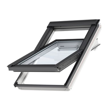Finestra da tetto (faccia inclinata) VELUX GGL UK08 2070 manuale L 134 x H 140 cm bianco