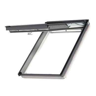 Finestra da tetto (faccia inclinata) VELUX GPL CK04 2070 manuale L 55 x H 98 cm bianco