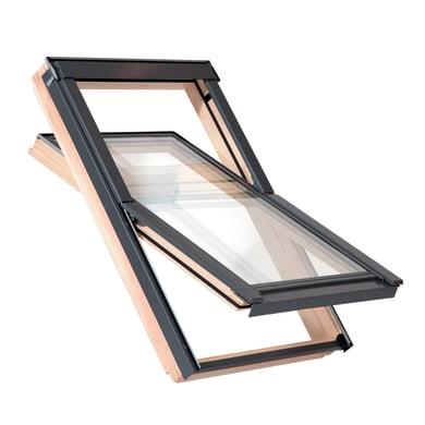 Finestra da tetto AAX C4A manuale L 55 x H 98 cm pino