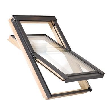Finestra da tetto AAX F6A manuale L 66 x H 118 cm pino