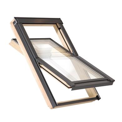 Finestra da tetto AAXM6A 800 manuale L 78 x H 118 cm pino