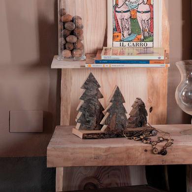 Sagoma decorativa in castagno grezzo 40 x