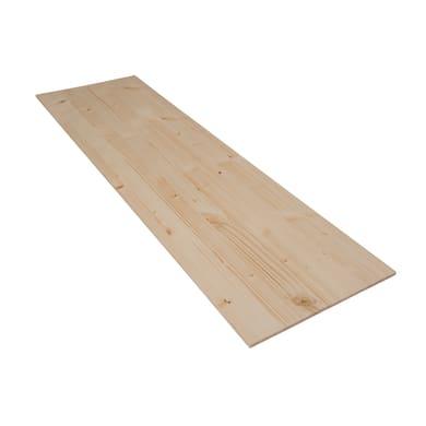 Tavola legno lamellare abete 1° scelta 100 x 30 cm Sp 7 mm