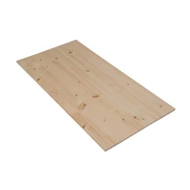 Tavola legno lamellare abete 1° scelta 60 x 30 cm Sp 7 mm