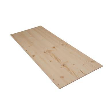 Tavola legno lamellare abete 1° scelta 100 x 40 cm Sp 7 mm