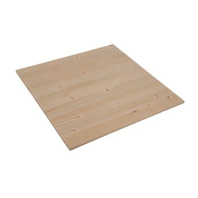 Tavola legno lamellare abete 1° scelta 40 x 40 cm Sp 7 mm