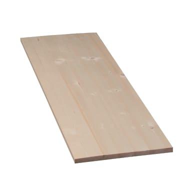 Tavola legno lamellare abete 1° scelta 60 x 30 cm Sp 18 mm