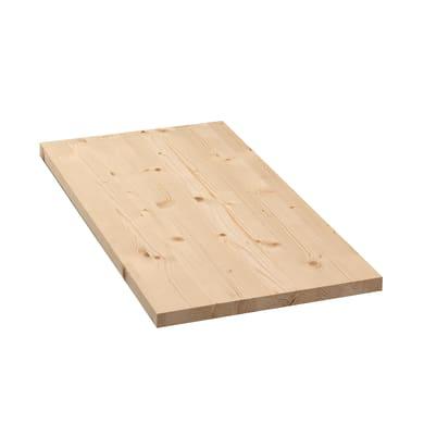 Tavola legno lamellare abete 1° scelta 60 x 50 cm Sp 18 mm