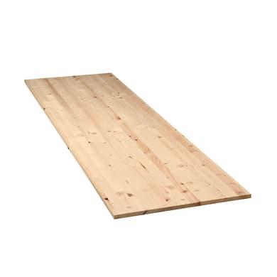 Tavola compensato di legno abete L 200 x H 80 cm Sp 18 mm