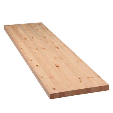Tavola legno lamellare abete 200 x 60 cm Sp 50 mm