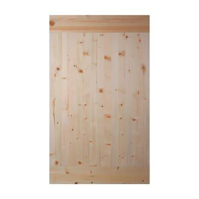 Tavola legno lamellare abete 100 x 60 cm Sp 18 mm