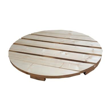 Piano tavolo tondo grezzo 44 mm Ø 600 mm