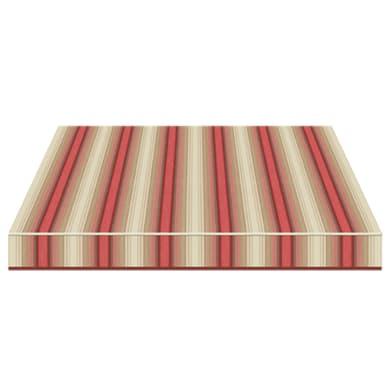 Tenda da sole a caduta con bracci TEMPOTEST PARA' L 2.4 x H 2.5 m Cod. 5010/11 beige, rosso, marrone