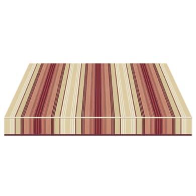 Tenda da sole a caduta con bracci TEMPOTEST PARA' L 2.4 x H 2.5 m Cod. 5011/11 marrone, beige, rosso, bordeaux