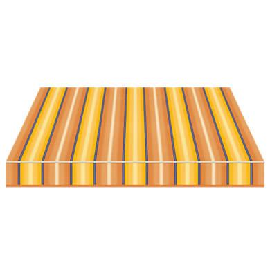 Tenda da sole a caduta con bracci TEMPOTEST PARA' L 2.4 x H 2.5 m Cod. 773/54 blu, giallo, avorio, marrone