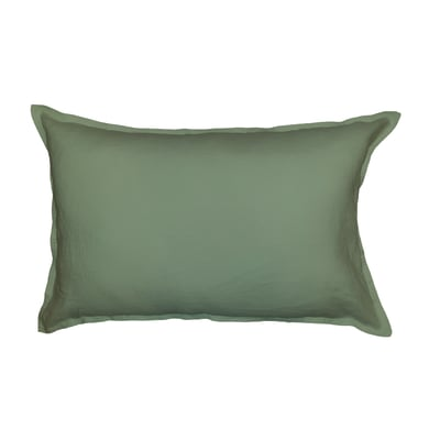 Cuscino Lino verde 60x