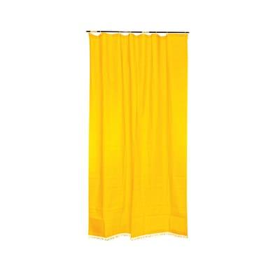Tenda da sole ad anelli 150 x 300 cm giallo