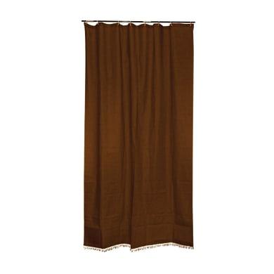 Tenda da sole ad anelli 150 x 300 cm marrone