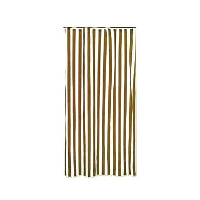 Tenda da sole ad anelli 150 x 350 cm marrone