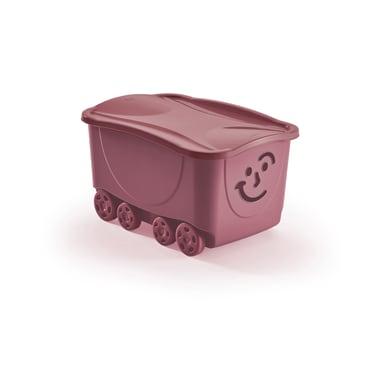 Scatola Fancy Roller L 43.5 x H 32 x P 34 cm rosa