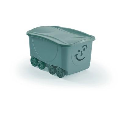 Scatola Fancy Roller L 43.5 x H 32 x P 34 cm azzurro