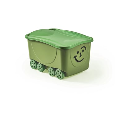 Scatola Fancy Roller L 43.5 x H 32 x P 34 cm verde